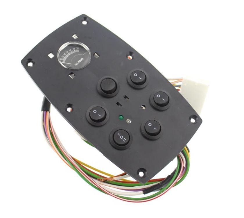 Series 6 Senator 12 Volt Complete Control Panel | PRIMA Leisure