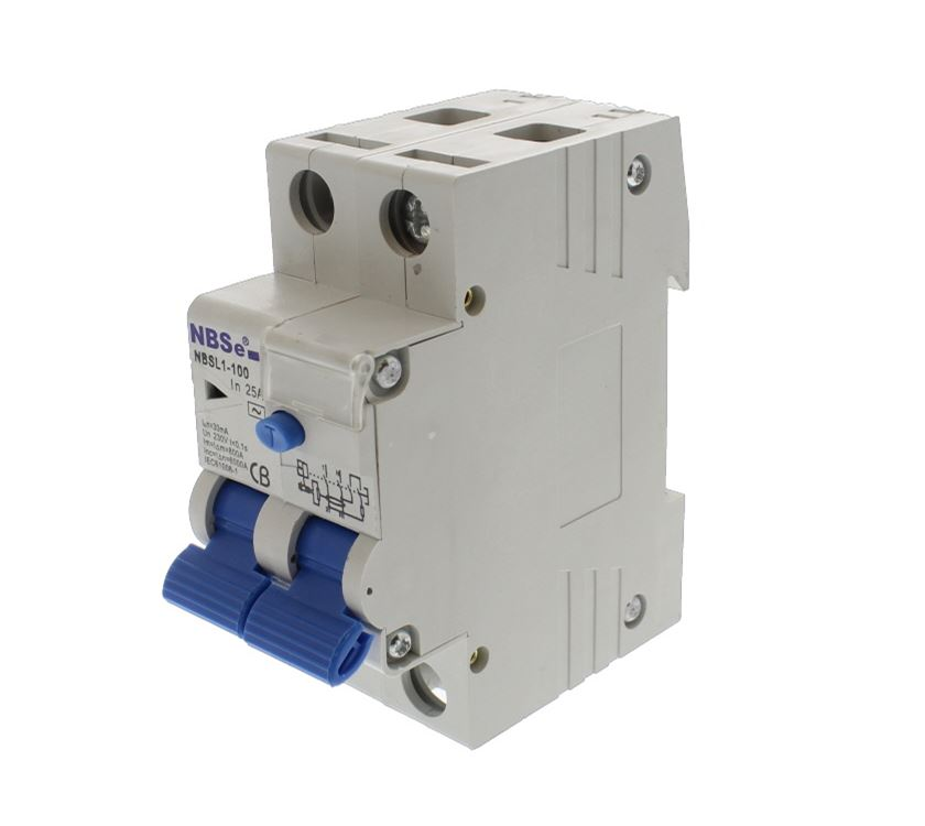 25 Amp Circuit Breaker Rcd Test Switch Prima Leisure