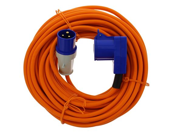 Mains Site Lead 25m (90 Degree Connector) product image