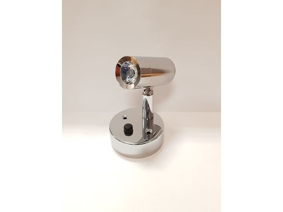 Nano LED Cylinder Spot Light Chrome Natural White product image