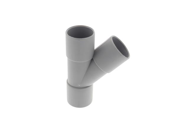Grey 28mm Push Fit Y Connector product image
