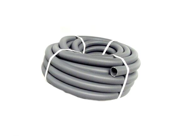 28.5mm Grey Convoluted Pipe Waste Hose 25mtr roll product image