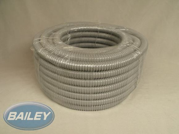 26mm ID Grey PVC Hose / Pipe 30m coil (roll) product image