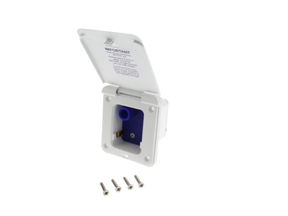 Water Pump Inlet White (2 pin socket) product image