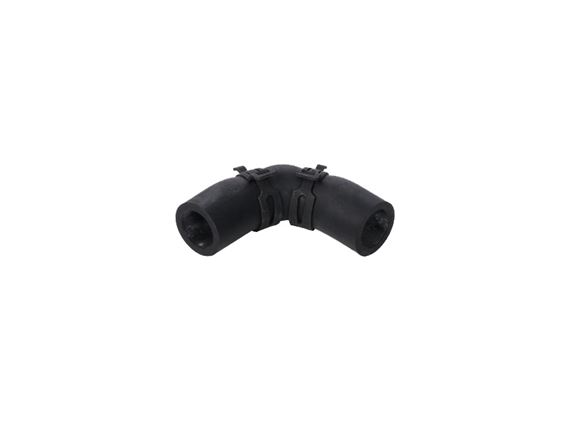 Alde Rubber Elbow 90d c/w clips 62x62mm product image