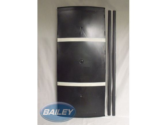 RMSL8500 Fridge Door L/H Black product image