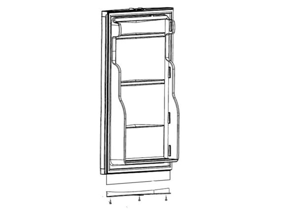 Dometic RM7550 Fridge Door product image