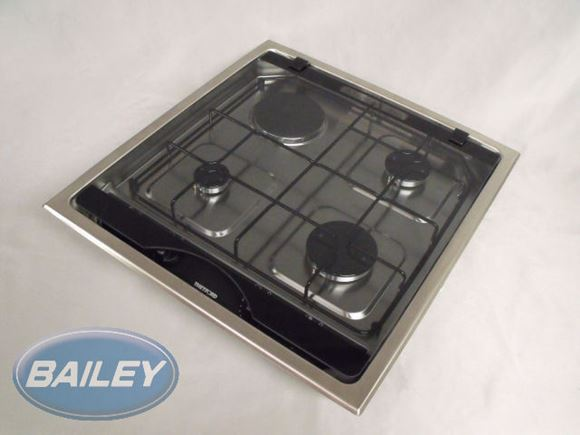 4 Burner Hob with 1 off Elec Plate product image