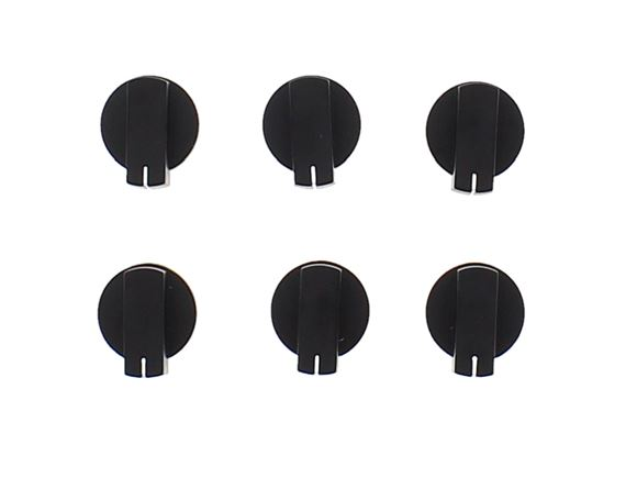 Thetford K1520 Cooker - Oven Knobs Black x6 product image