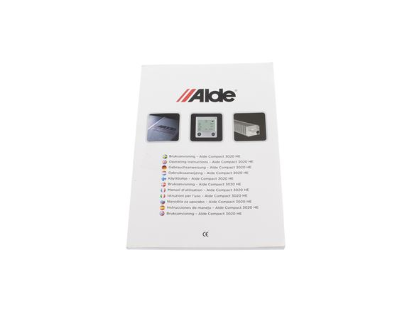 Alde 3020 Heating System Manual product image