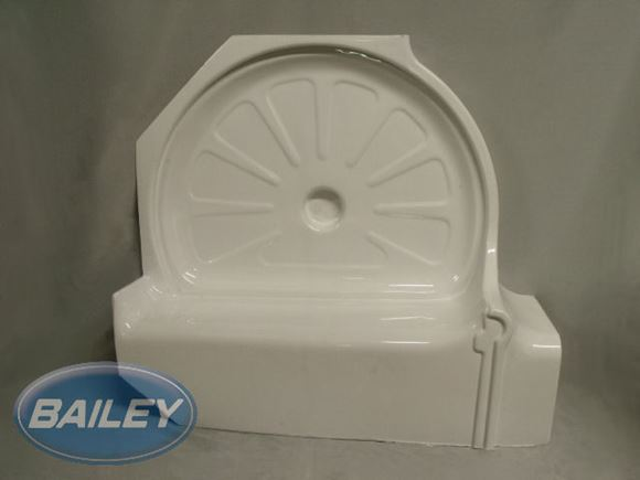 Shower Tray R/H Cubicle Insert product image