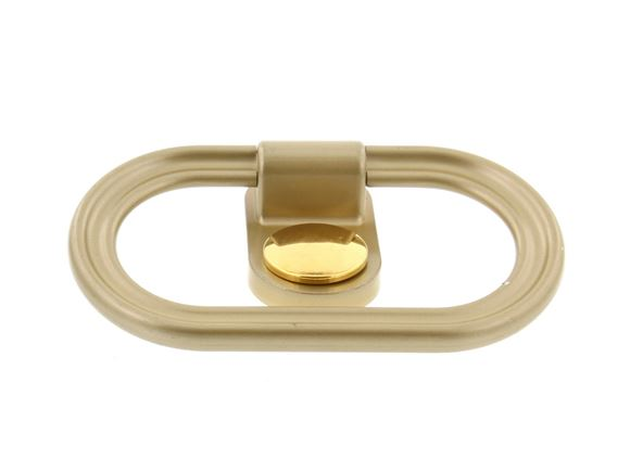 Gold Towel Ring with Disc product image