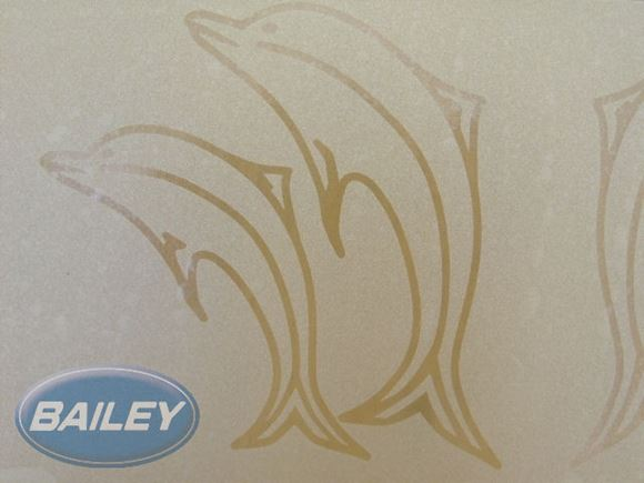 Dolphin Sticker for Shower Screen product image