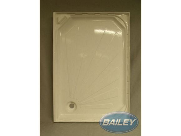 Rear Corner Shower Tray with Curved Corner product image