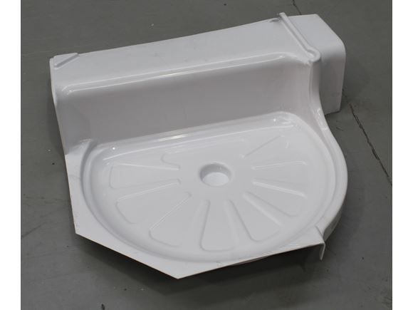 Centre Toilet Shower Cubicle Tray L/H product image