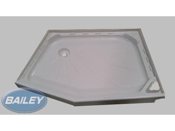 Pursuit 540/5 RAL9001 Shower Tray product image