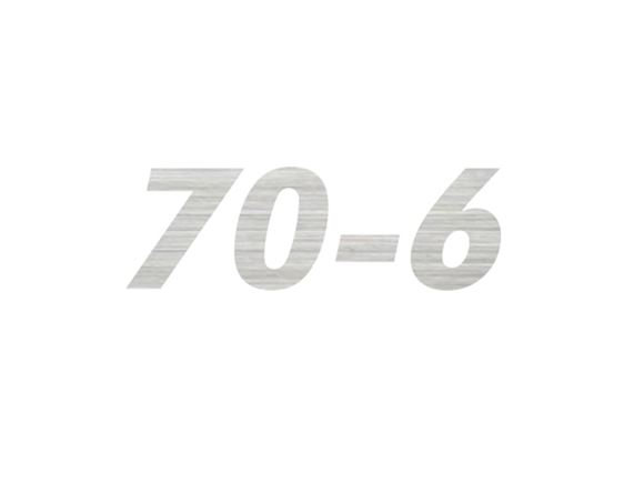 AL1 70-6 Model Number Decal product image