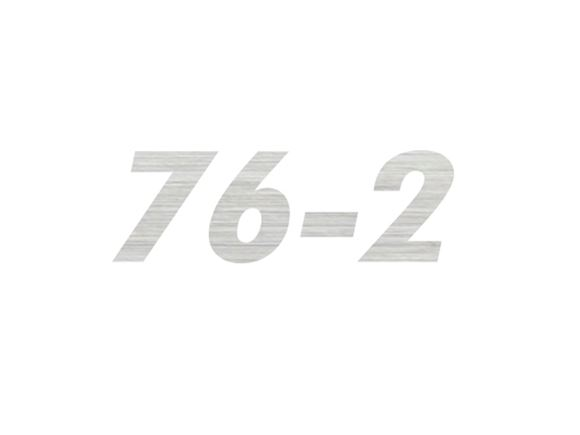 AL1 76-2 Model Number Decal product image