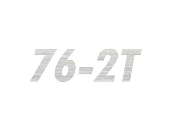 AL1 76-2T Model Number Decal product image