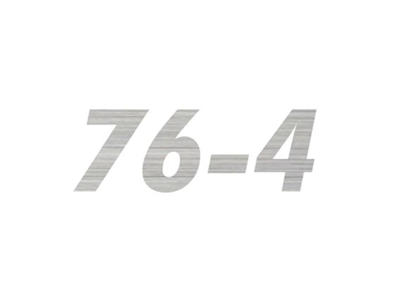 AL1 76-4 Model Number Decal product image