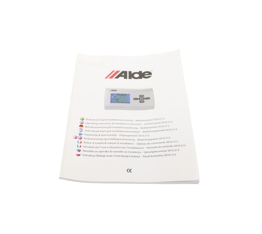 Alde Heating System Control Panel Manual | PRIMA Leisure