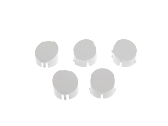 Alu-tech Wheel Spat Set Screw Caps No. 1-5 White product image