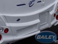 PS4 PT2 Rear Centre Bumper w/ Cut Out