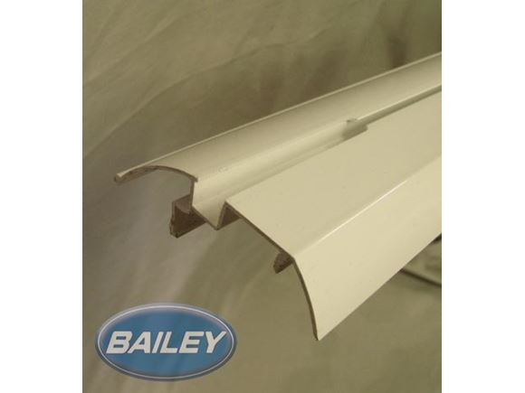 Skirt Rail 2750mm White product image