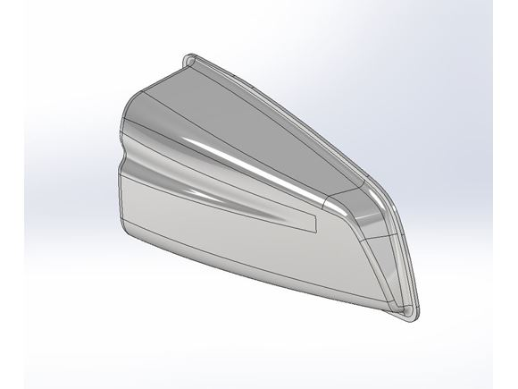 AH2 Rear Aero Awning Cap product image