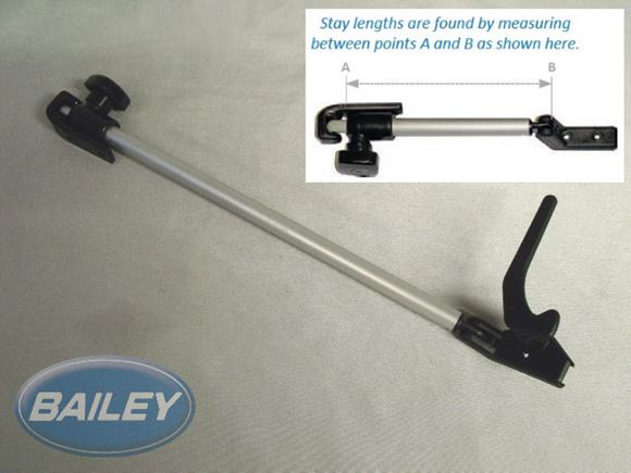 Polyplastic 260mm Window Stay L/H product image