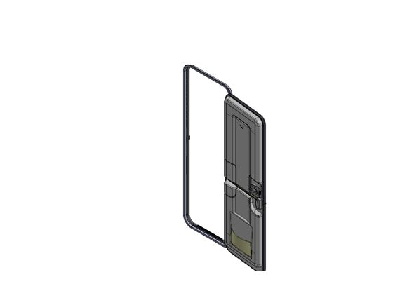 PX1 R/H Exterior Door & Frame product image