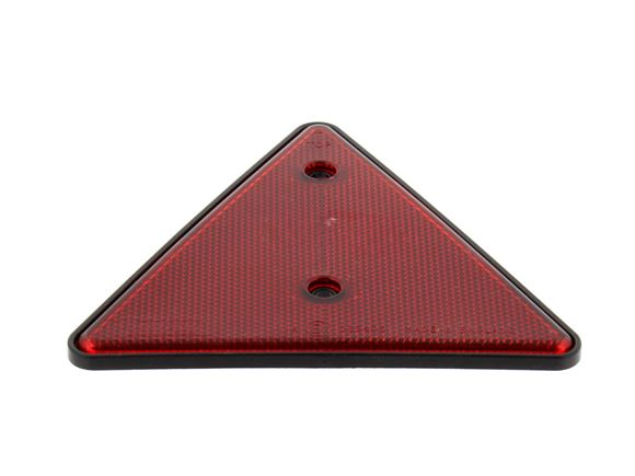 Red Triangle Reflector with Black Surround         product image