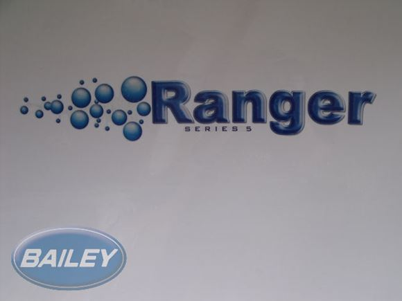 S5 Ranger Front O/S Decal w/ Bubbles product image