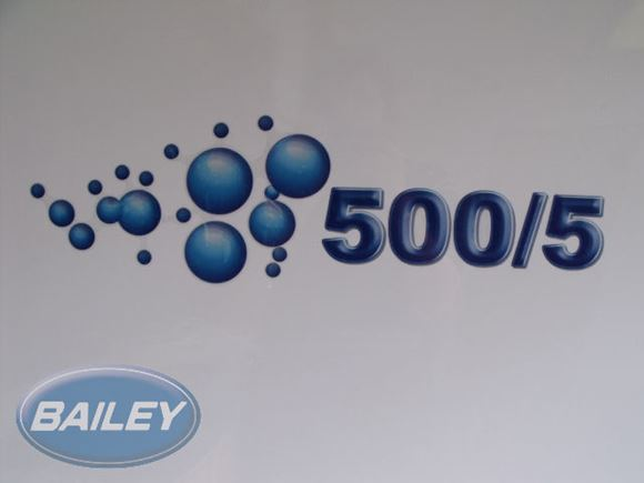 S5 Ranger 500/5 Decal w/ Bubbles N/S product image