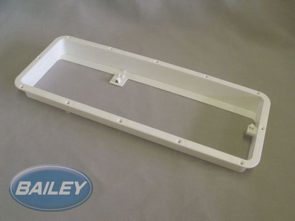 PS4 PT2 AE1 Lower Fridge Vent Mounting Frame Cream product image