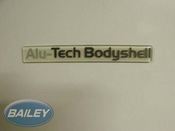 Unicorn Alu-Tech Badge In Perspex product image