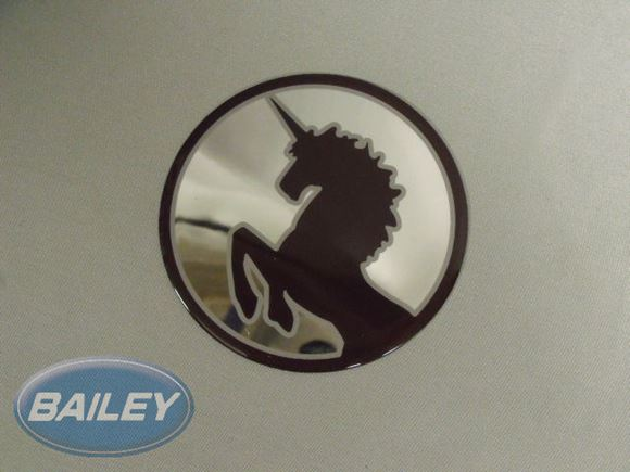 Unicorn Resin Logo Badge L/H N/S (Circle) product image
