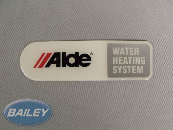Alde Resin Badge 48mmx164mm product image