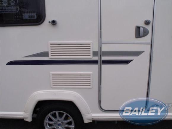 Orion Silver & Blue N/S Middle Stripe Decal product image