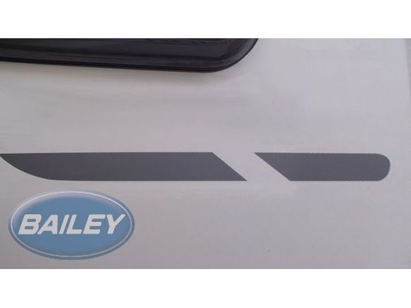 Orion 400/2 Silver O/S/F Side Stripe Decal product image