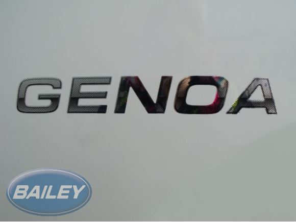 Pegasus II Genoa Model Name Decal product image