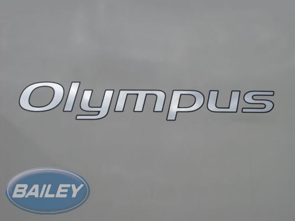 Olympus II Silver Name Decal product image
