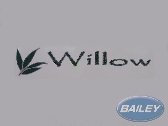 Retreat Willow Name Decal product image