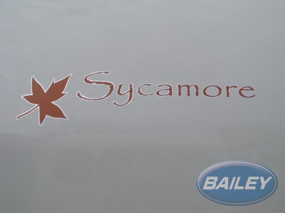 Retreat Sycamore Name Decal product image
