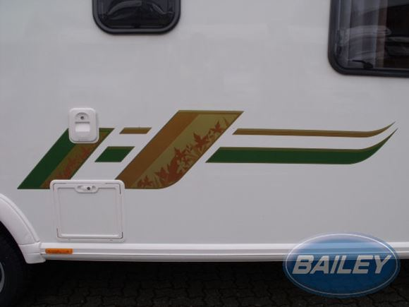 Retreat N/S Rear Gold & Green Large Main Decal product image
