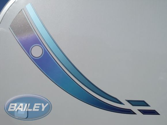 Orion EVO 4 Silver & Turquoise O/S/R Side Decal product image