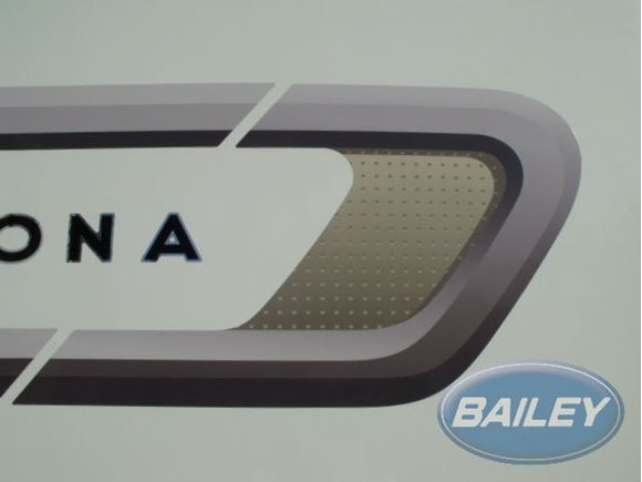 Unicorn II N/S Rear Side Curved Stripe Decal product image