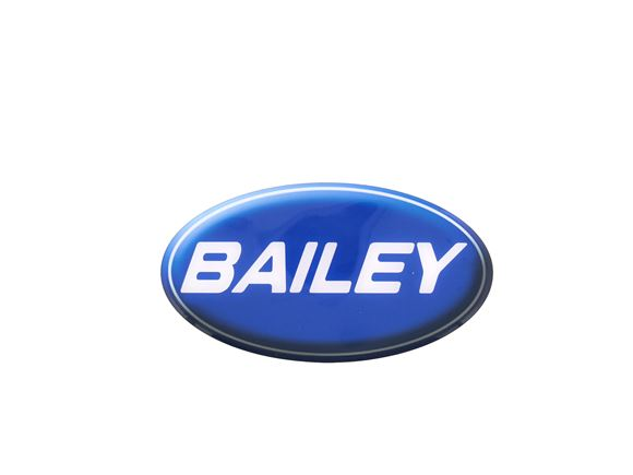 Bailey Oval Badge-shaded (High Tack Adhesive) product image
