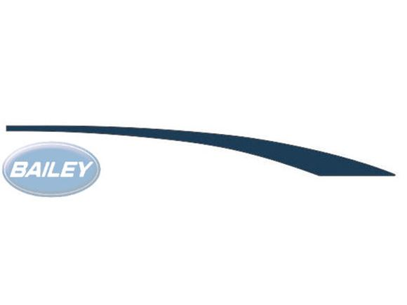 Pegasus GT65 O/S Front Upper Blue Sweep Decal product image