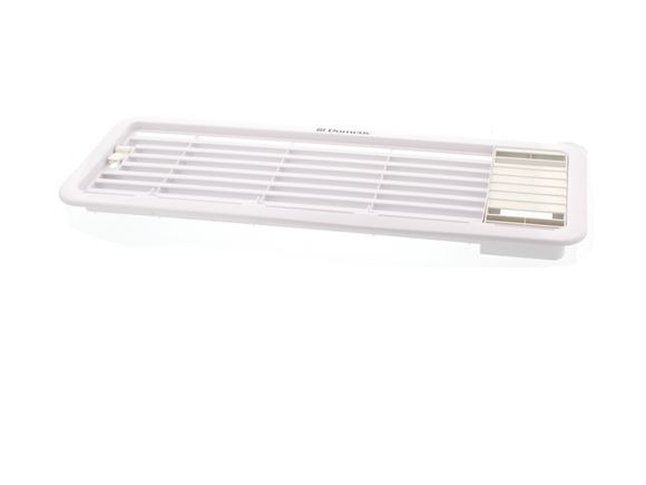 Dometic Upper Fridge Vent & Grill w/ Insert White product image